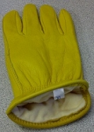Lined Deerskin Gloves